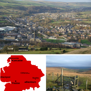 Images depicting landscapes of Burnley, Rawtenstall, Rossendale and Rochdale, where Direct Business and Accounting Services can support your business with accounting and finances