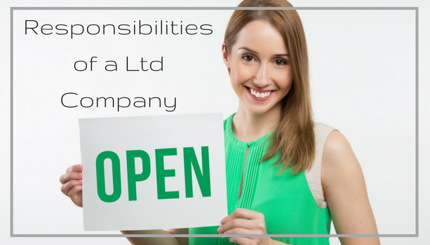 What are the responsibilities of a Ltd company?